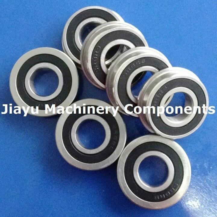 SFR8ZZ Stainless Steel Bearings 10 Each Lot of 10