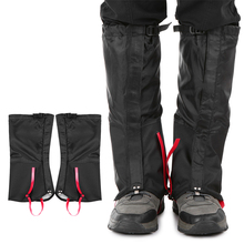 купить Outdoor Mountain Snow Leg Gaiters Windproof Waterproof Shoes Cover Dust-proof Leg Gaiter leg warmers outdoor safety 2019 дешево