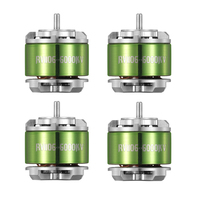 4pcs AOKFLY 1106 Brushless Motor 6000KV/7500KV Mini FPV Motors Drone Motor for QAV90 100mm FPV Racing Drone Quadcopter
