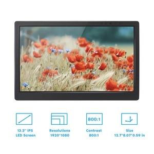Image 2 - SunFounder Monitor portátil IPS de 13,3 pulgadas, pantalla de 1920x1080 para Ps4, Raspberry Pi 4B 3B + 3B WiiU Xbox 360