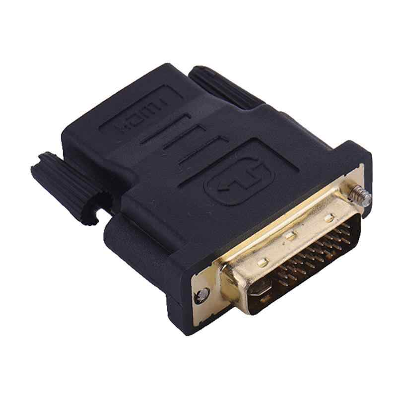 1080P DVI 24+5 Male To HDMI Female Converter HD TV Cable M-F Adapter For HDTV Video Converter Cable