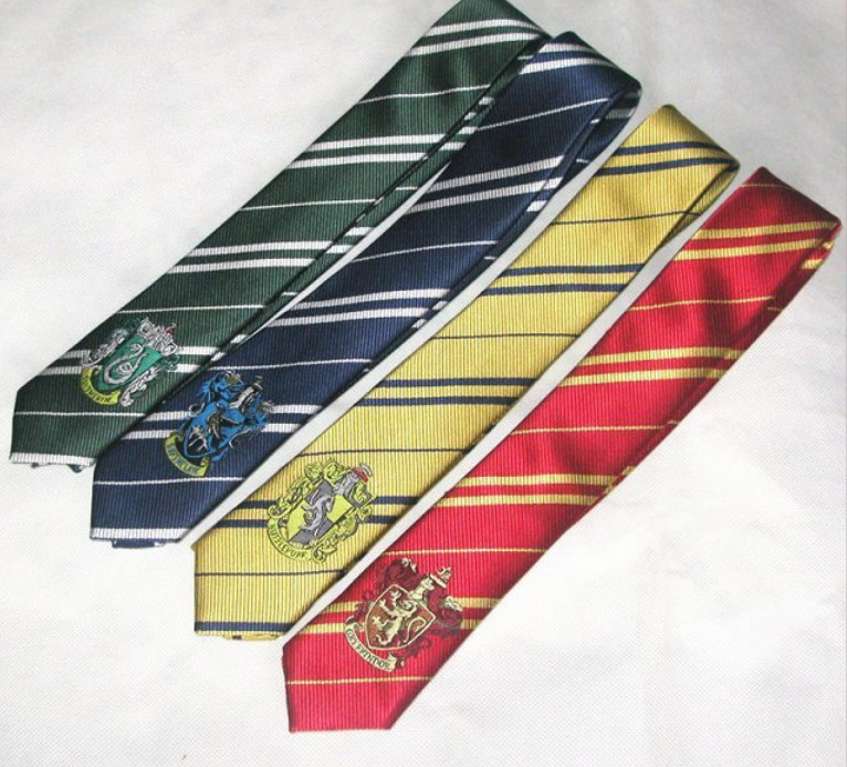 2018 anime cosplay best seller Harri Potter Gryffindor/Slytherin/Hufflepuff/Ravenclaw Necktie ties Cosplay Costumes