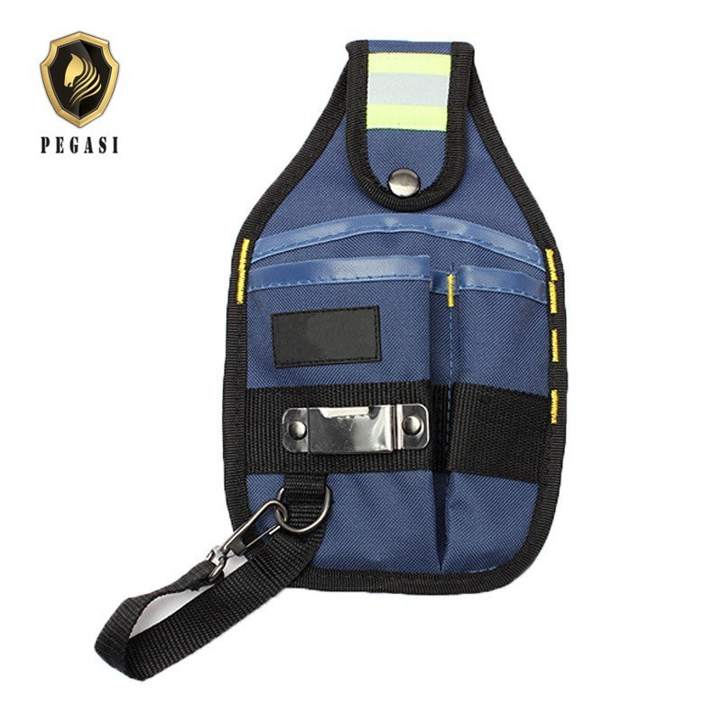 PEGASI Strong Oxford Cloth And Thicken Design Wear Waterproof Electrician Wide Tool Tools Bag Belt Holder Kit Pockets