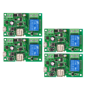 Image 1 - 2PCS 5PCS Wifi Switch eWeLink DC5V 12V 24V 32V Smart Home Automation Modules Phone APP Remote Control Timer Switch Voice Control