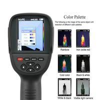 220X160 ИК разрешение Инфракрасный Тепловизор ручной 35200 пиксели термальность изображений камера Инфракрасный термометр