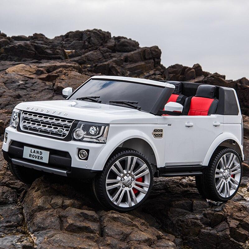 Автомобиль с мотором, четыре колеса, вездеходный, с дистанционным управлением, для ребенка, супер двойные игрушки для вождения, автомобиль может сидеть, купе - 3