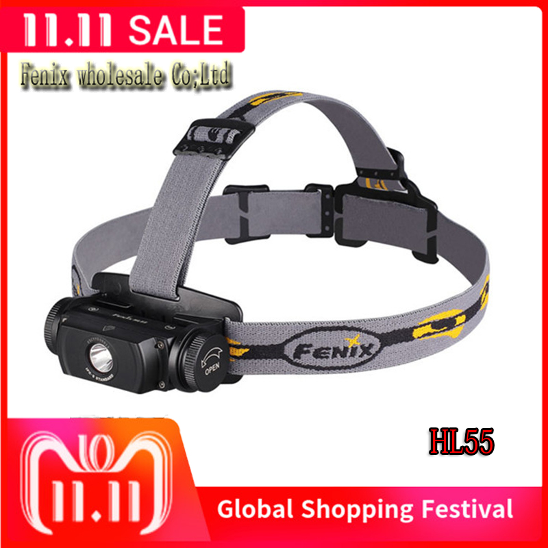 Fenix HL55 Headlamp Lantern Cree XML2 T6 LED Light 900Lumens Outdoor Rescue Search-in Headlamps from Lights & Lighting    1