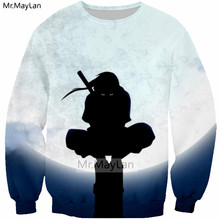 Harajuku Cool Anime Naruto 3D Print Ninja Sweatshirts Men/women Hip Hop Streetwear Hoodies Boys Pullover Crewneck Outfit Clothes