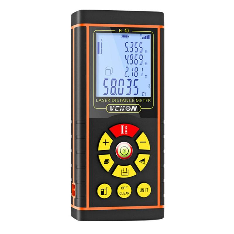 Handheld High Precision Infrared Measurement datum switching Laser Rangefinder Measure Distance Meter Electronic Ruler