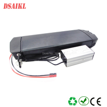 EU US no tax 36volt electric bike luggage battery pack 36v 19.2ah ebike and charger