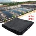 2 dimensioni 0.5 millimetri Spessori Fish Pond Liner Garden Pool Rinforzato HDPE Heavy Duty Professionale del Paesaggio Piscina Impermeabile Fodera di Stoffa