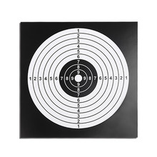 100 PCS Target Paper Paintball Target Posters Square Shooting Practice Paper Sheet 14X14CM Target Paper Bow(China)