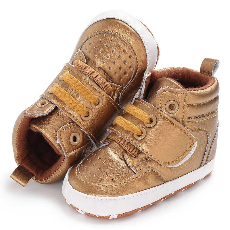 daa5def1f ... 2019 Newborn Baby Boy Girl Soft Sole Crib Shoes Warm Boots Anti-slip  Sneaker Cute ...
