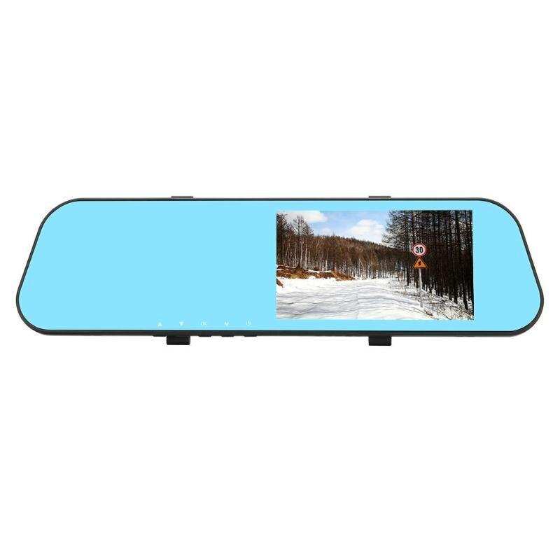 5in Dual Lens Car Rearview Mirror DVR Camera Motion Detection Dash Cam5in Dual Lens Car Rearview Mirror DVR Camera Motion Detection Dash Cam