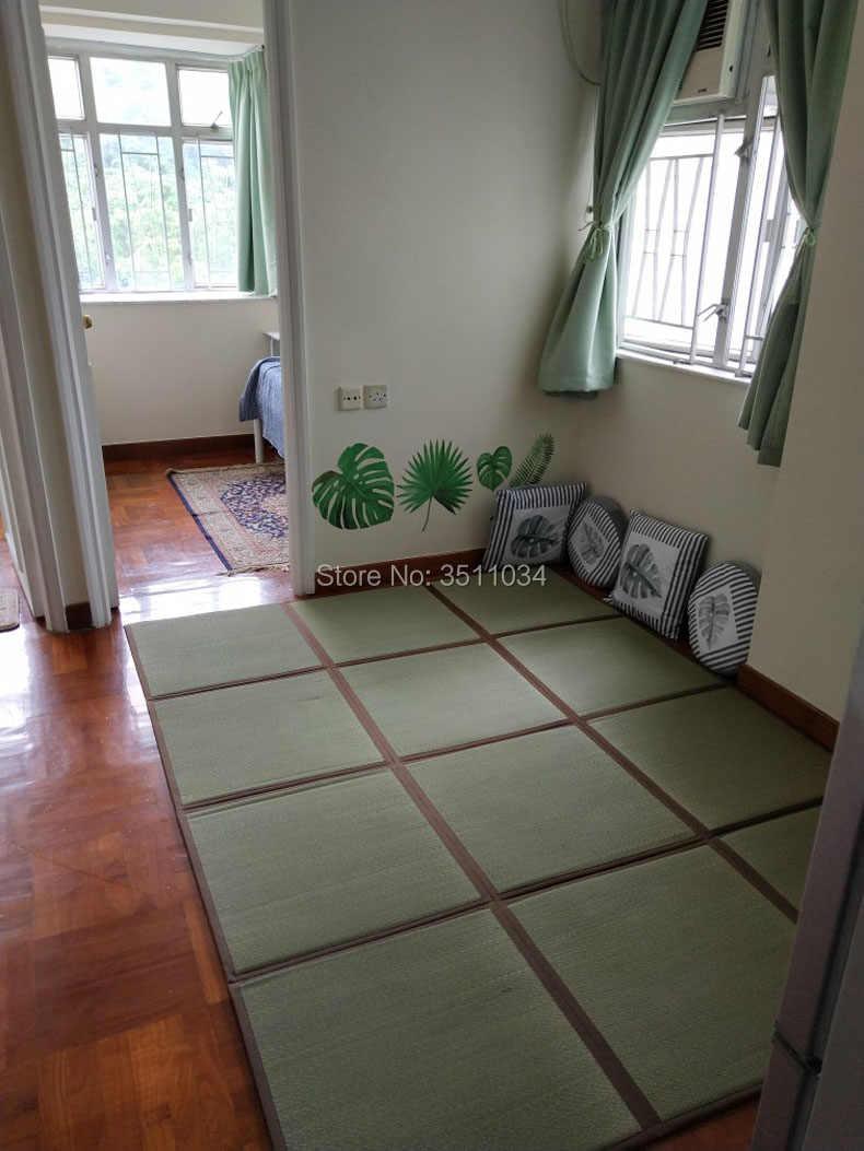 Camera Da Letto Giapponese giapponese 12mm di spessore naturale rush tatami tappeto