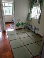 Japanese 12MM thickness Natural Rush Tatami Carpet Tatami Mat Floor Sheet Lightweight For Living Room Bedroom Mattress Floor Mat