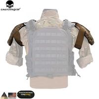 Emersongear Tactical Shoulder Armor Hunting AVS CPC Vest Accessories Shoulder Protector Armor Pouch Multicam EM7331