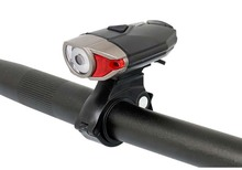 Bicycle Headlight Helmet Spotlight Dual Mount Handlebar Safety Cap Install Cycling White LED Front Lighting USB Charge