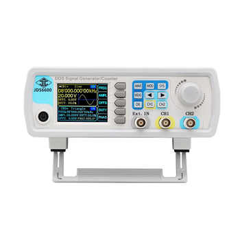 Hot sale Eu Plug Jds6600-60M 60Mhz Signal Generator Digital Control Dual-Channel Dds Function Signal Generator Frequency Meter