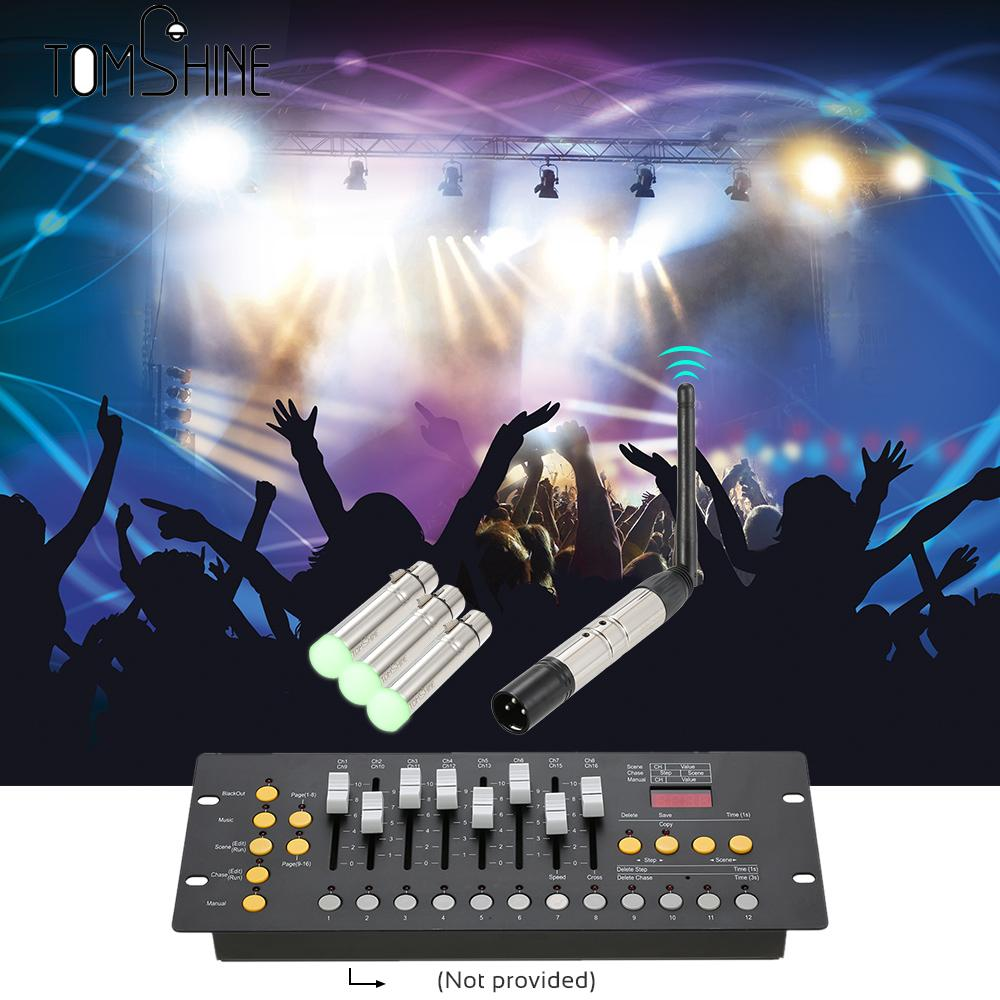 Us 59 78 35 Off 4pcs Dmx512 Transmitter Receiver Kit Portable 2 4g Ism Wireless For Party Dj Show Club Disco Ktv Stage Light Lighting Fixture In