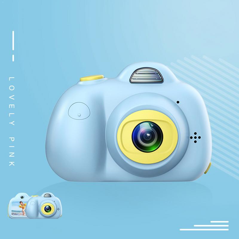 Enfants mignon Animal jouet caméra Mini appareil photo numérique petit reflex Double-lentille sport jouet caméra pour enfants - 3