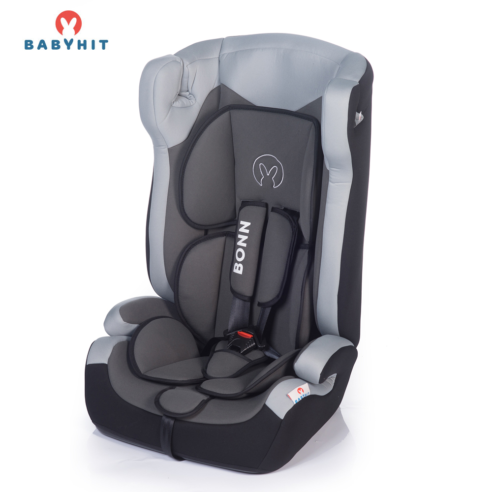 Child Car Safety Seats BABYHIT BONN (BFL100A) Gray for girls and boys Baby seat Kids Children chair autocradle booster baby potty rabbit multifunction toilet portable baby child pot training girls boy potty kids child toilet seat potty chair