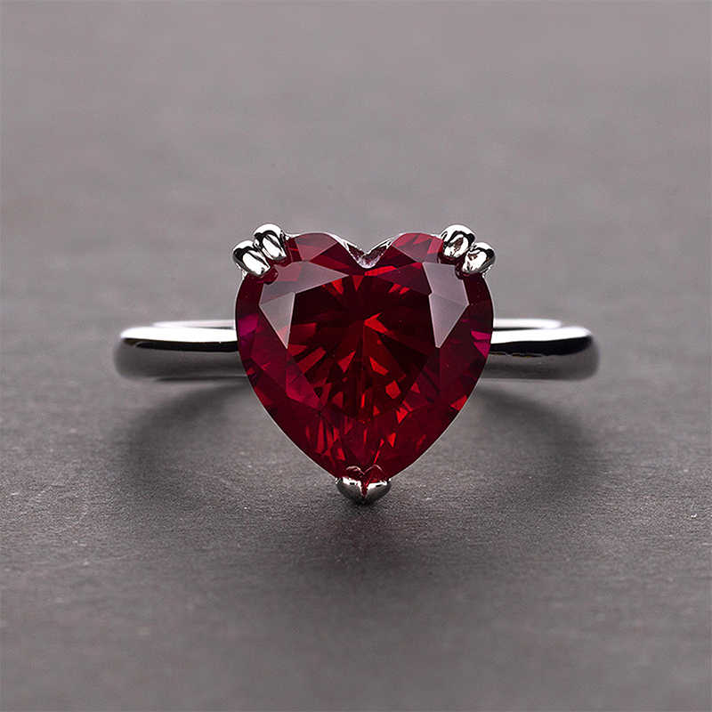 PANSYSEN Natuaral Gemstone Ring Top Brand Genuine 925 Sterling Silver Wedding Engagement Rings For Women Shining Stone Jewelry