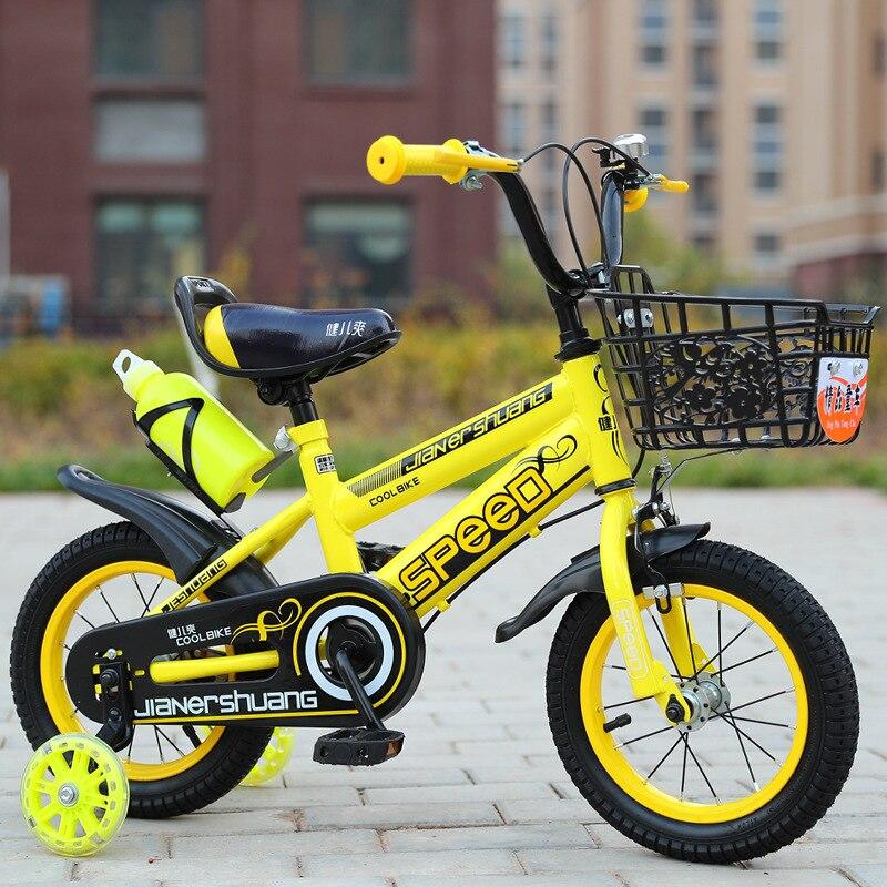 Nouveau modèle enfants vélo 3-6 ans 12 pouces 14 pouces 6 pouces 18 pouces vélo femme garçon bébé fille enfants vélo vélos