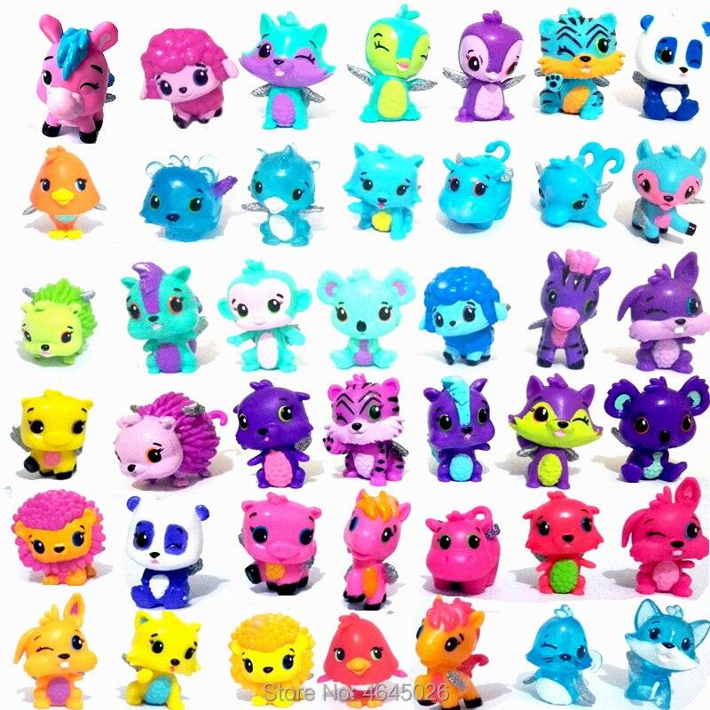 30 pcs Animais Dos Desenhos Animados do Cavalo do Ovo Para Incubação Em Miniatura do Modelo Figuras de Ação PVC Mini Pet Shop Figuras Collectible Dolls Kids Brinquedos