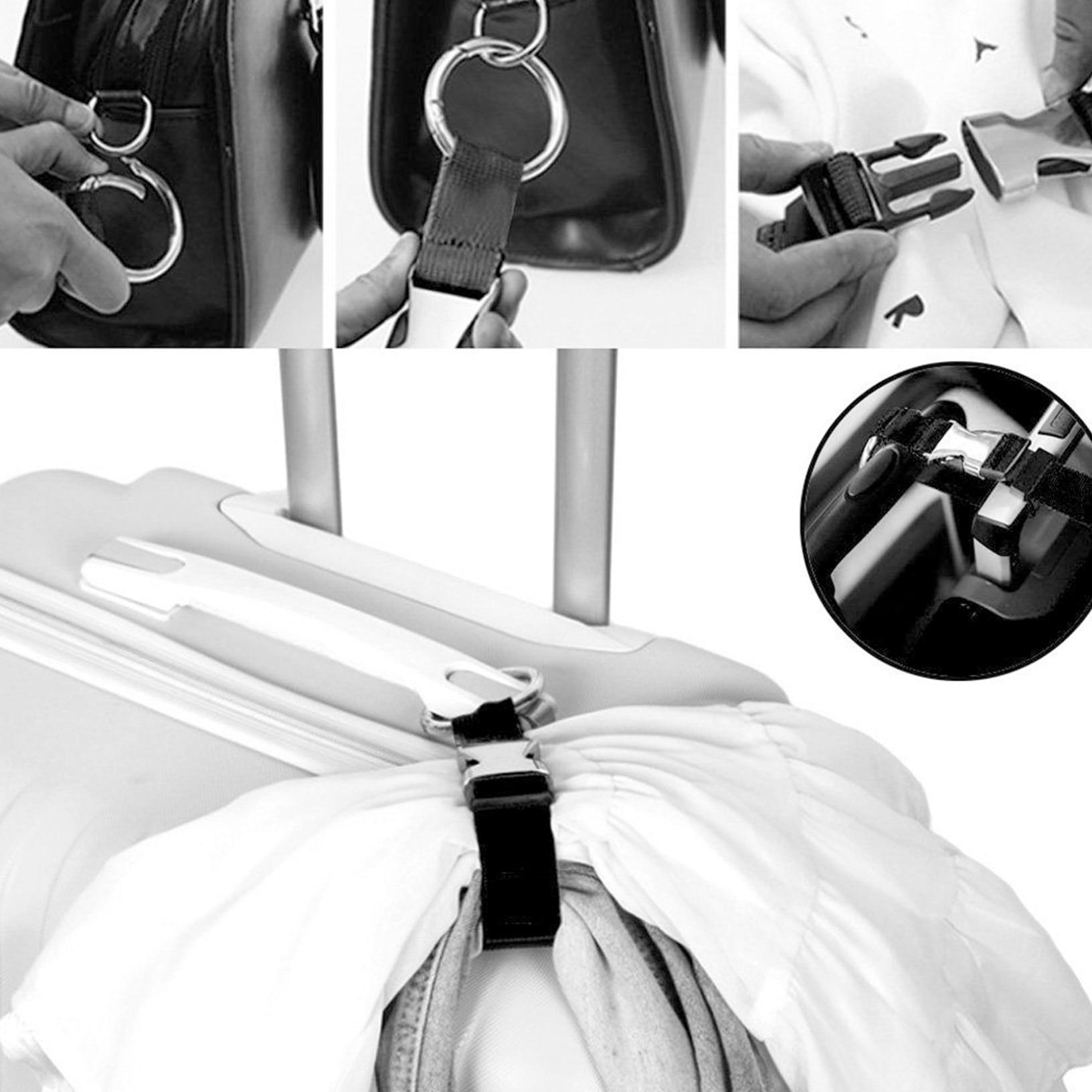 Circuit Board Travel Luggage Strap Adjustable Suitcase Packing Belt