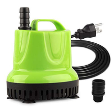 Small Submersible Water Pump For Pond, Aquarium, Hydroponics, Fish Tank Fountain With Power Cord Eu Plug