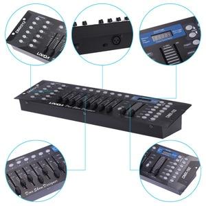 Image 4 - DJ DISCO Light Controller 192 ช่อง DMX512 Controller คอนโซลสำหรับ STAGE PARTY ดิสโก้ใหม่ปีอุปกรณ์