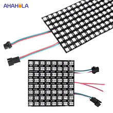 Ws2812b RGB LED Strip 5 V Panel Layar 8*8 16*16 8*32 Piksel Ws2811 Ws2812 ws2812b Addressable 5050 RGB Digital Panel Fleksibel(China)