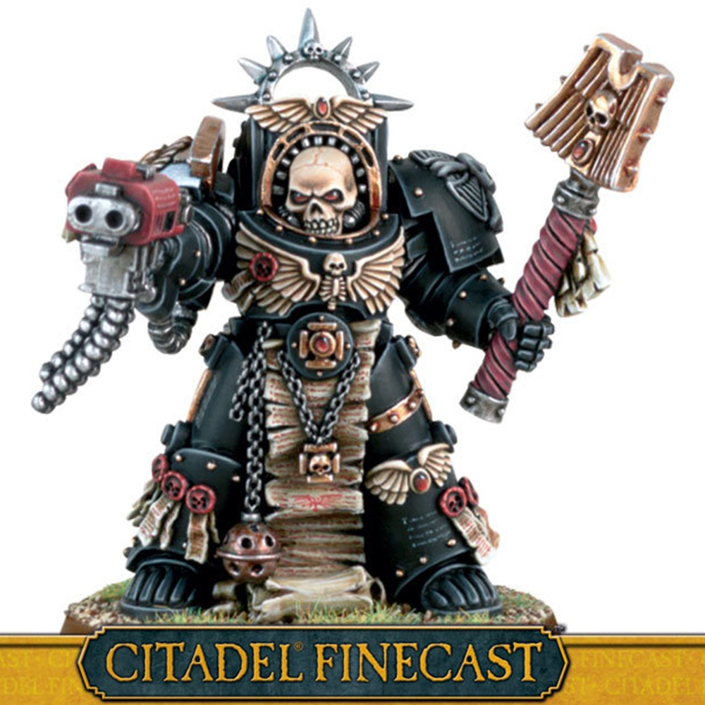 Terminator Chaplain-in Model Building Kits from Toys & Hobbies