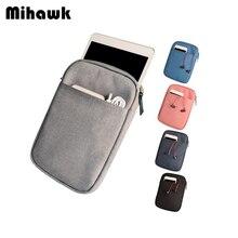 Mihawk Men's Women's Laptop Bag 8 10 Inch PC Tablet Briefcas
