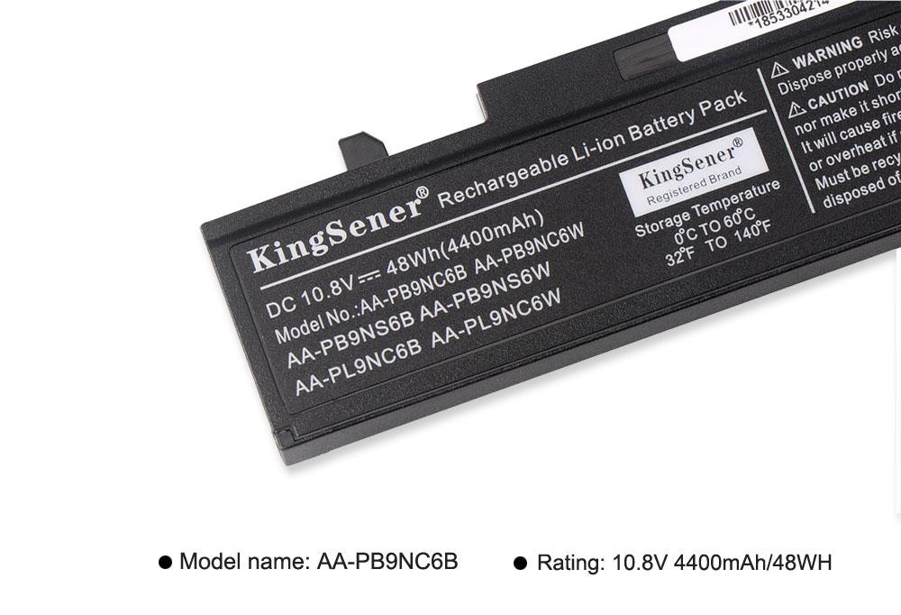 Аккумулятор для ноутбука KingSener AA-PB9NC6B - Аксессуары для ноутбуков - Фотография 6