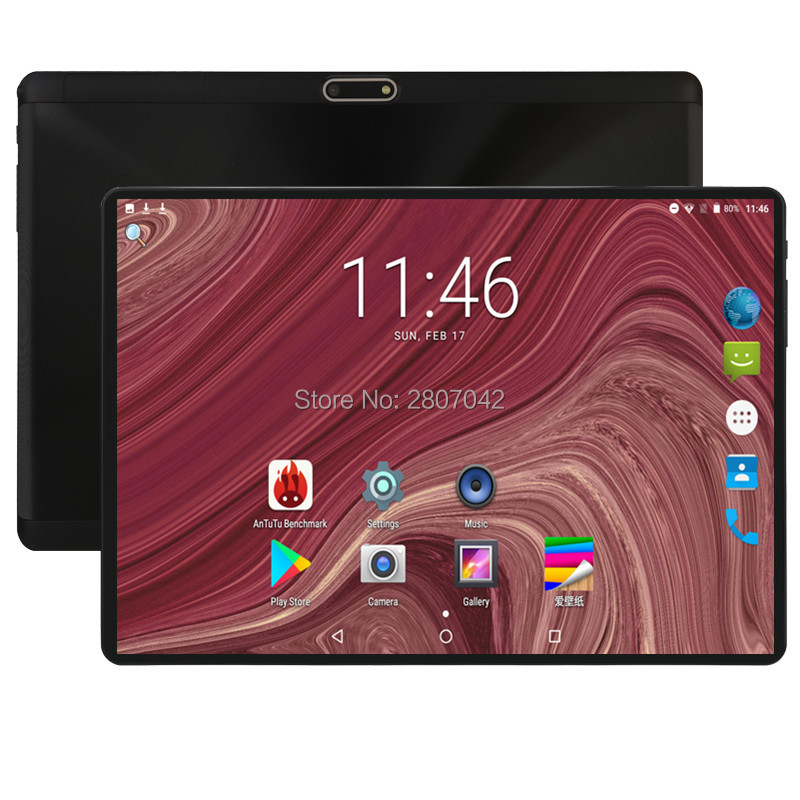 2019 Version 10 Inch Octa Core Tablet Android 8.0 OS 4GB RAM 64GB ROM 1280x800 IPS Dual SIM Cards Computer 4G FDD LTE GPS Pad