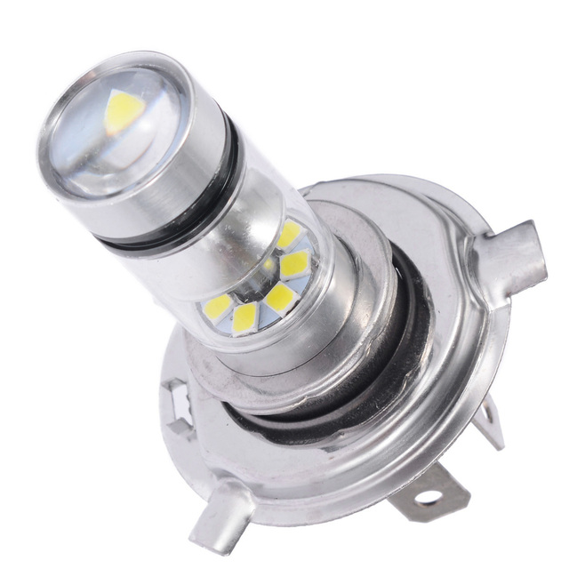 1pc H4 45W 2500LM 6500K LED Motorcycle Car Fog Light High Low Beam Headlight Daytime Running Light Fog light