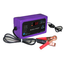 12V 24V 200AH Automatic Car Battery Charger Intelligent Repair Type Power Charging US adapter