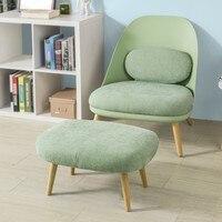 SoBuy FST63, расслабляющий шезлонг кресло диван с подходящей подножки, телевизор Чтение расслабляющий стул