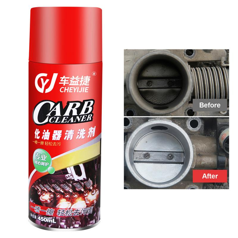 US $7 21 20% OFF 450ML Car Carburetor Cleaner Car Throttle Cleaning Oil  Pollution Carbon Cleaning Agent Auto Cleaner-in Paint Cleaner from  Automobiles