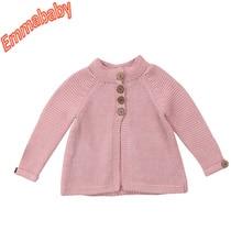 Детский вязаный свитер для маленьких мальчиков и девочек, кардиган, топы, яркие футболки,, новинка