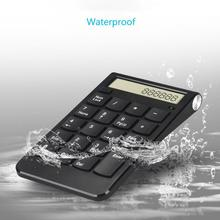 USB Keyboard 2.4G Digital Display Rechargeable Wireless Numeric Smart Keypad Office Supplies ,Financial Accounting