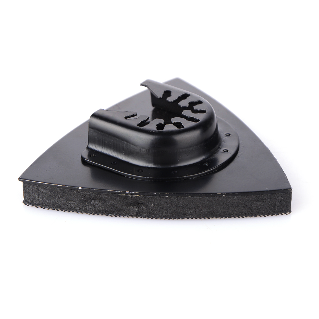 1pc 82mm Multitool Reciprocating Saw Blade Flush Triangular Sanding Abrasive Pad Oscillating For Home Power Tool Fein Multimaste