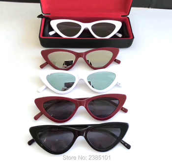 2019 New Cute Sexy Sunglasses Retro Cat Eye Sunglasses Lady Luxury Brand Designer Vintage Black Sunglasses Women Female UV400 - DISCOUNT ITEM  0% OFF All Category