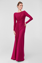 Trendyol Fuchsia Evening Dress ruffles Detailed TPRSS18FZ0156 635f982b5a7d