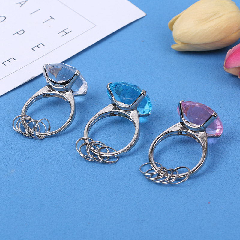 1 Pcs Diamond Crystal Keychain Christmas Party Favors Valentine Day Crystal Key Ring Gifts Accessories Festive Party Supplies