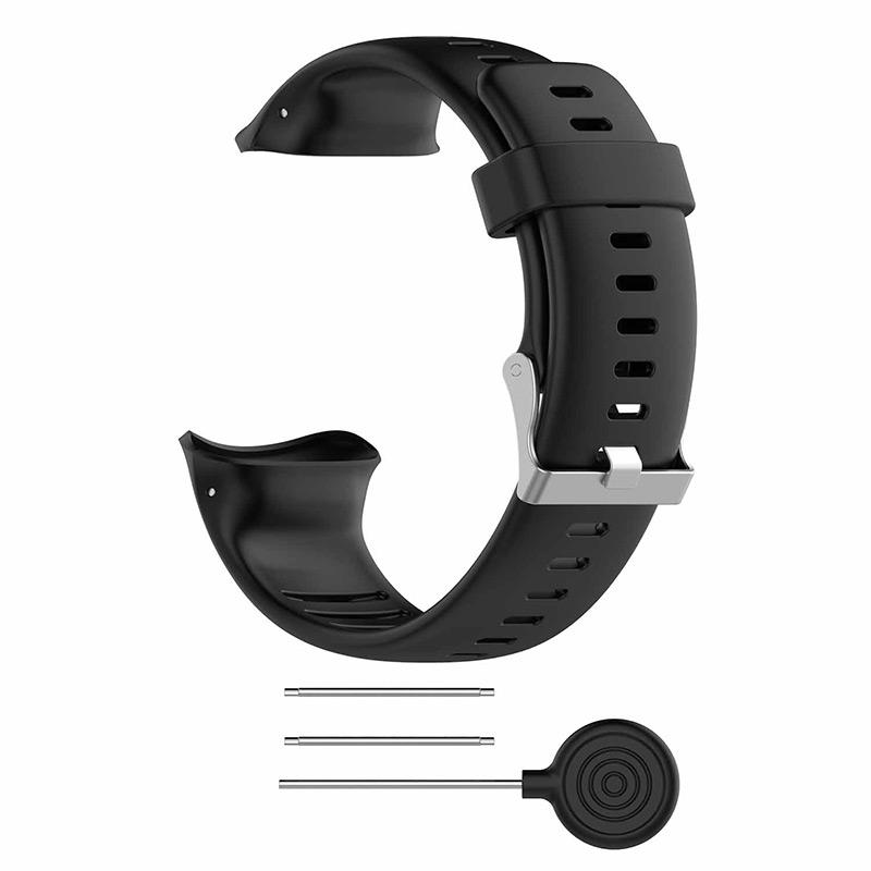 For Polar vantage V Watchband Replacement Silicone Smart watch Band Strap Wearable Devices Accessories in Smart Accessories from Consumer Electronics