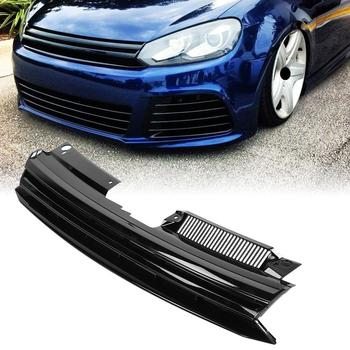 For GTI Style Badgeless Hex Mesh Grille Hood Grill for VW Golf MK6 Jetta 2010-2014 New grille