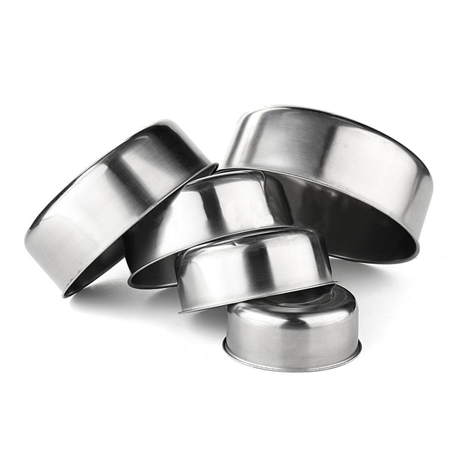 Stainless Steel Pots 5 pcs Set